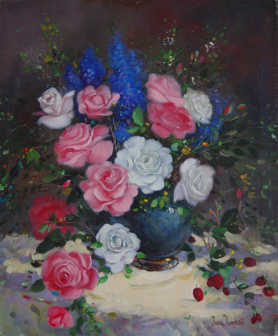 Soft Floral Arrangeme... by   Tankov  - Masterpiece Online