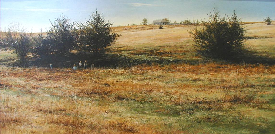 Gone Fishing by  Michael Wheeler - Masterpiece Online