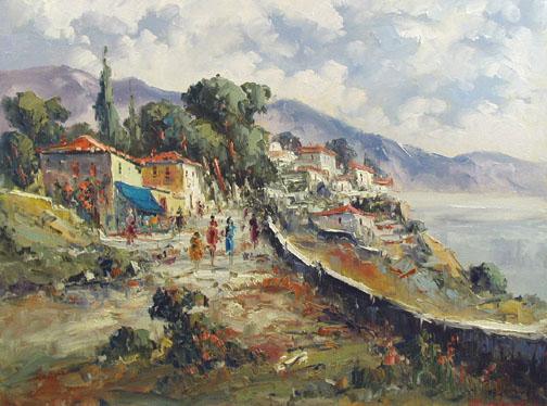 Promenade Stroll by  Fani  Parlapani  - Masterpiece Online