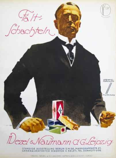 1926 Falt-Schachteln,... by  Ludwig Hohlwein - Masterpiece Online