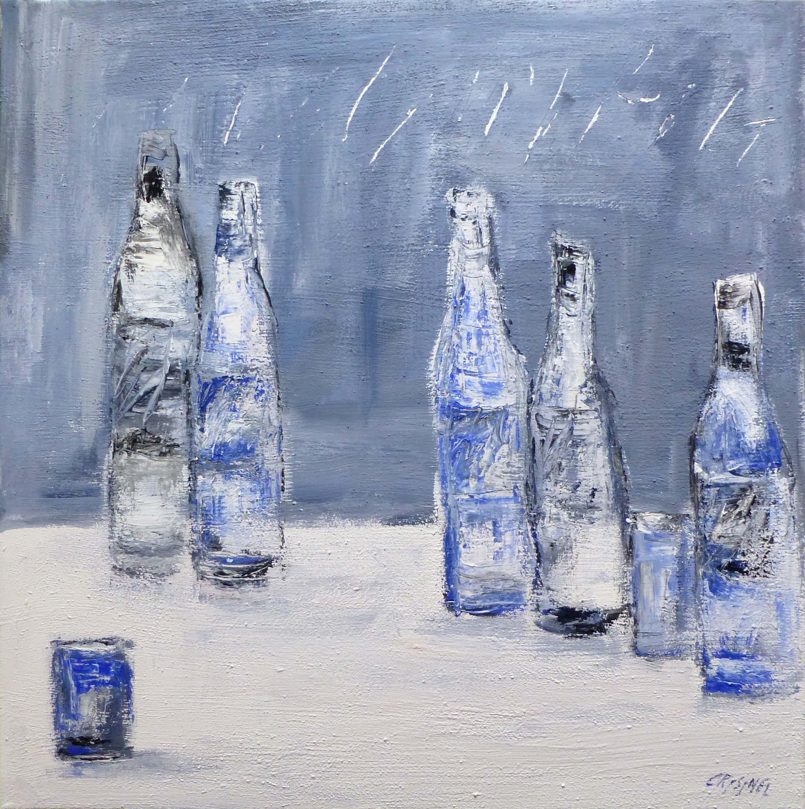 Bouteilles et verres by   CRISINEL - Masterpiece Online