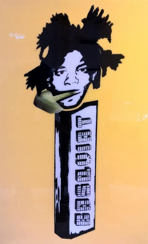Basquiat Pez by   WhIsBe - Masterpiece Online