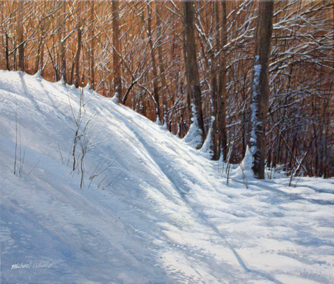 White Slope - Strong ... by  Michael Wheeler - Masterpiece Online