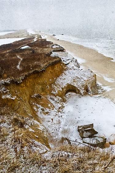 Snowy Beach, 2009 by  Michael Stimola - Masterpiece Online