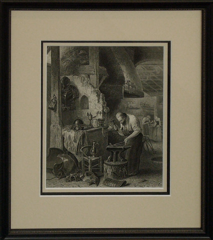 Victorian etching - f... by   Anonymous - Masterpiece Online