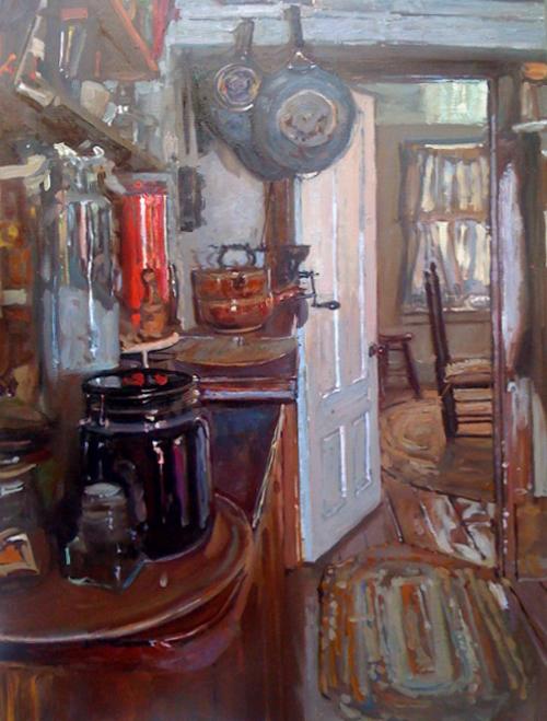 Mill House Kitchen by  Daud Akhriev - Masterpiece Online