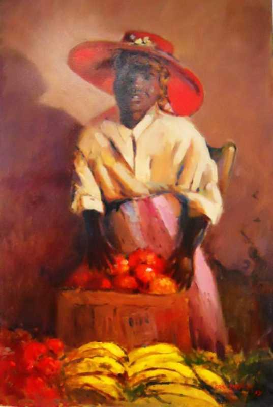 Red Hat Vendor by Mr. Vincent Castellanet - Masterpiece Online