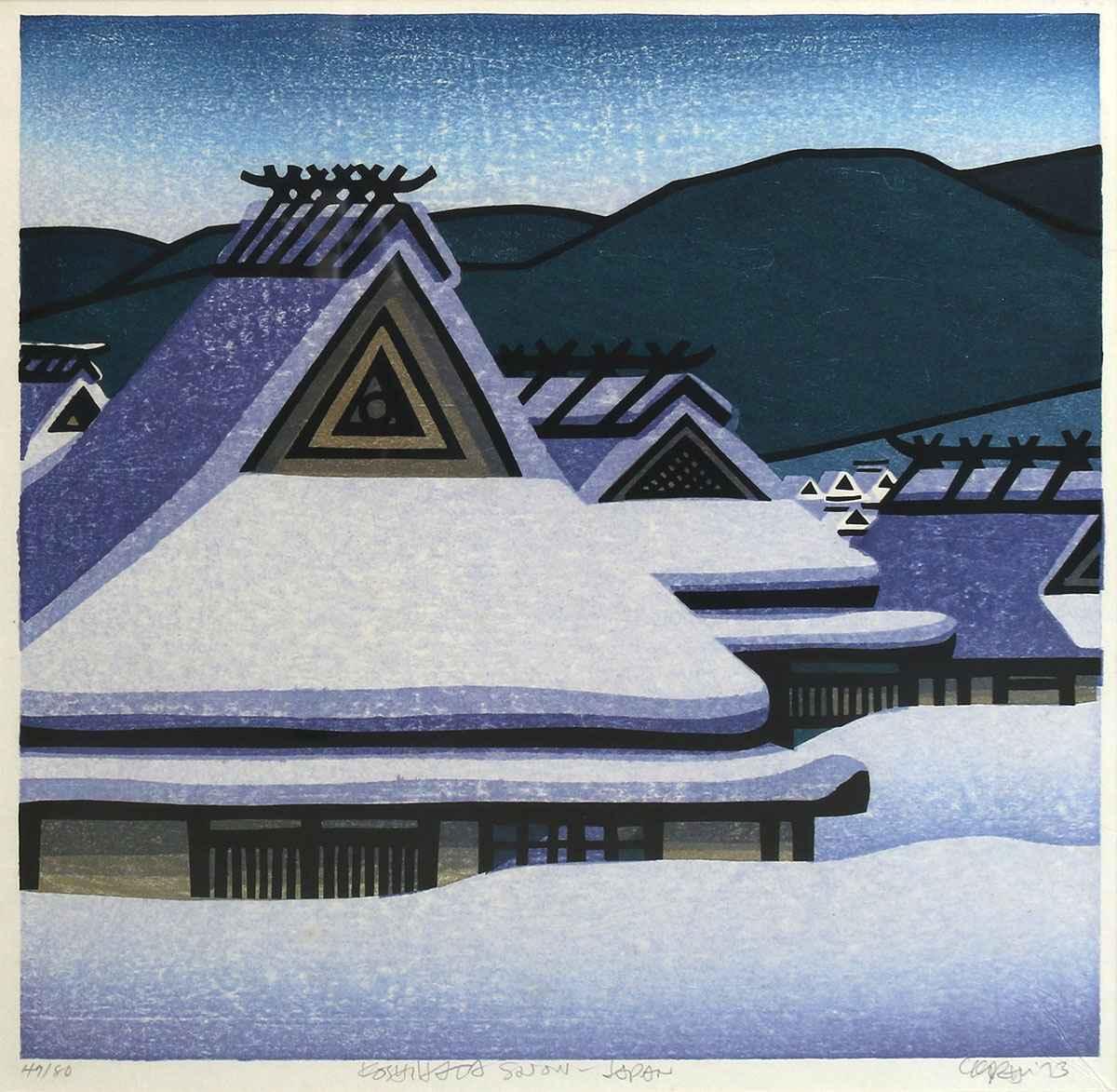 Koshihata Snow-Japan by  Clifton Karhu - Masterpiece Online