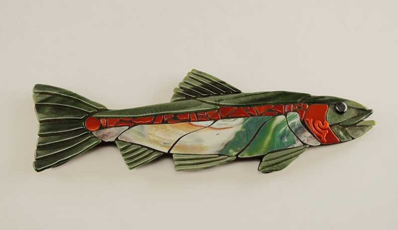Rainbow Trout by  Juli Hulcy - Masterpiece Online