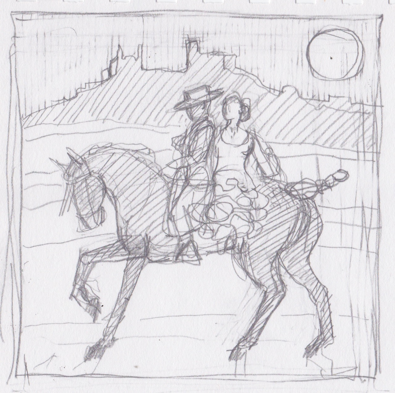 Study for Feria by  Melissa Hefferlin - Masterpiece Online