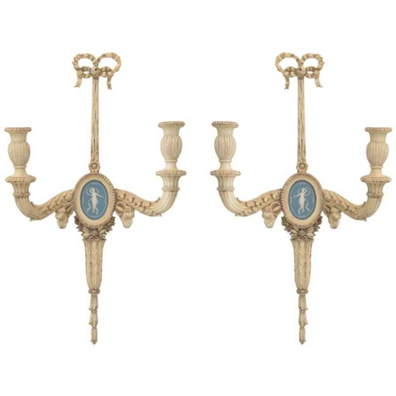 Pair of 19c. Carved W... by  French  - Masterpiece Online