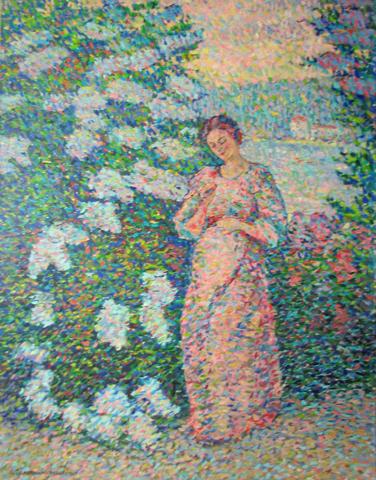 In the Garden by  Jeanne Selmersheim-Desgrange - Masterpiece Online