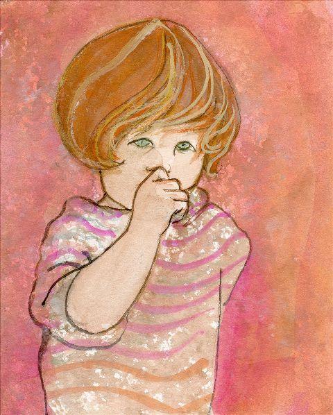 DP-MY LITTLE SWEETIE by  P. Buckley Moss  - Masterpiece Online