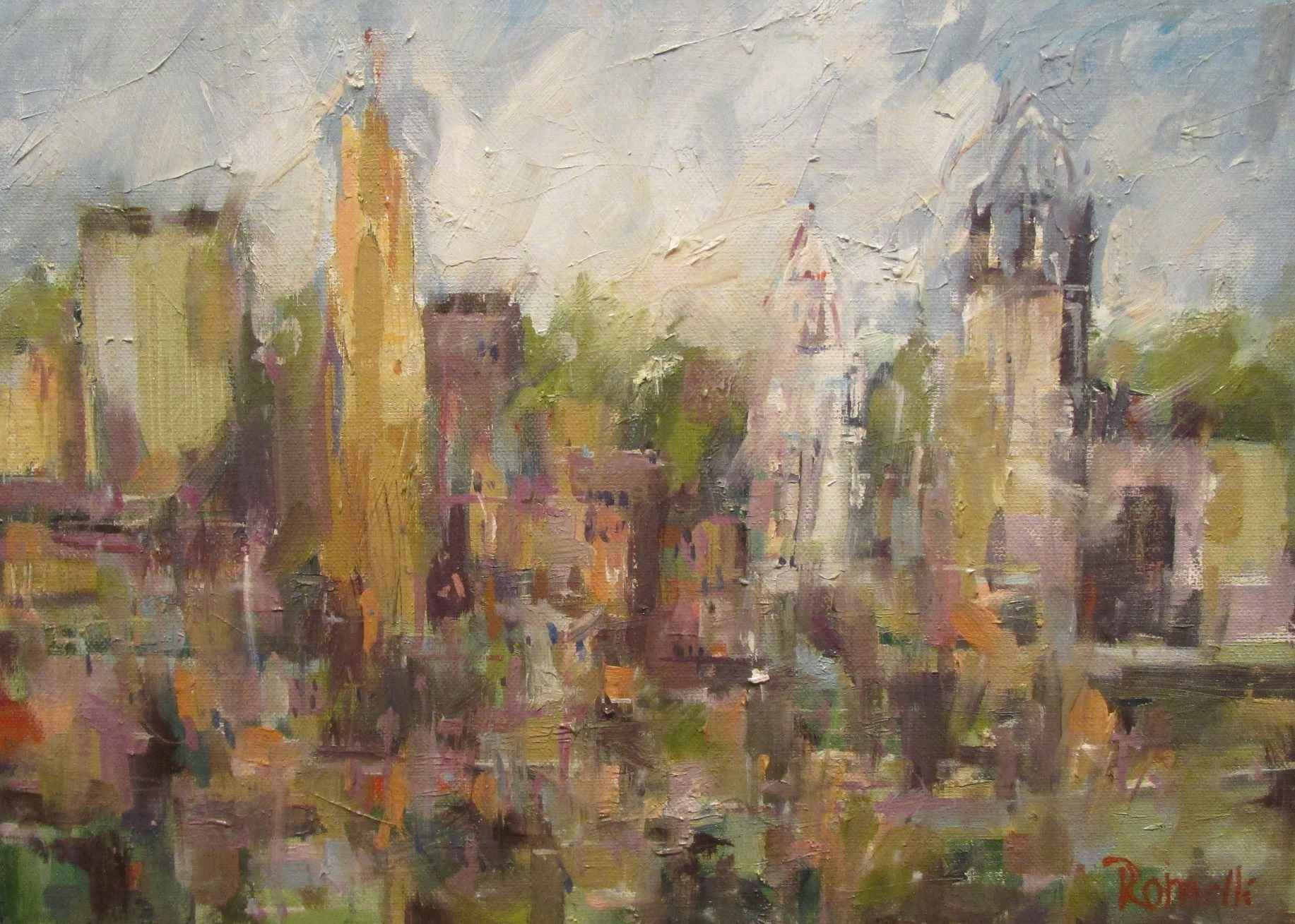 Queen City Spring by  Patrick Romelli - Masterpiece Online