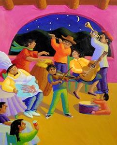 Night Music by  Diane Greenseid - Masterpiece Online