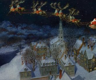 Christmas Story by  Gennady Spirin - Masterpiece Online
