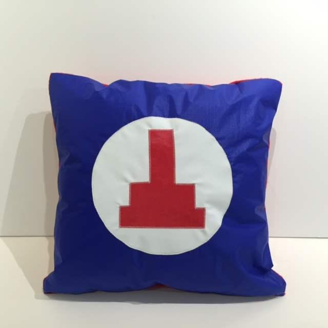 Small Pillow, Cuttyhu... by   Vineyard Vintage ReSail - Masterpiece Online