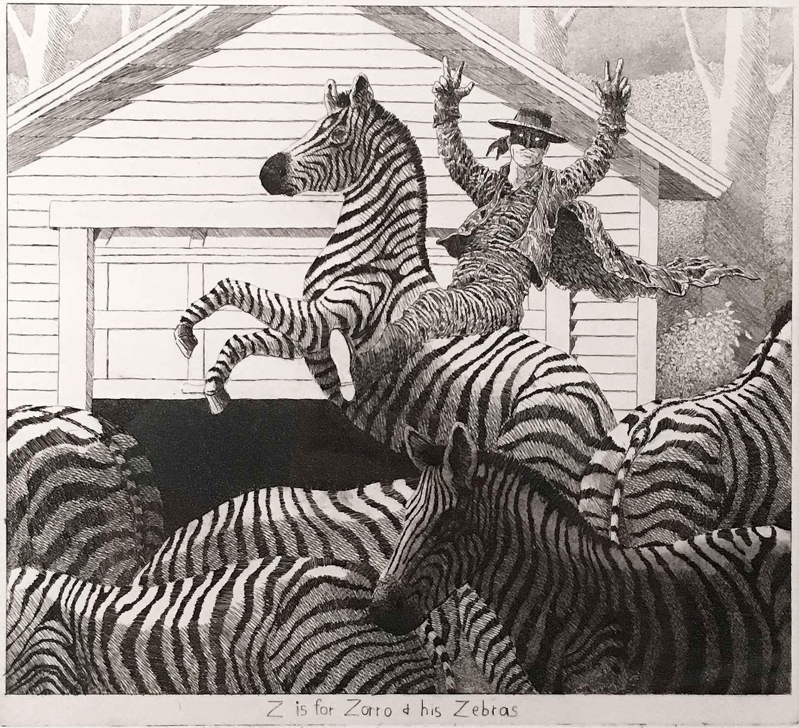 Garage Bestiary - Z by  James Munce - Masterpiece Online