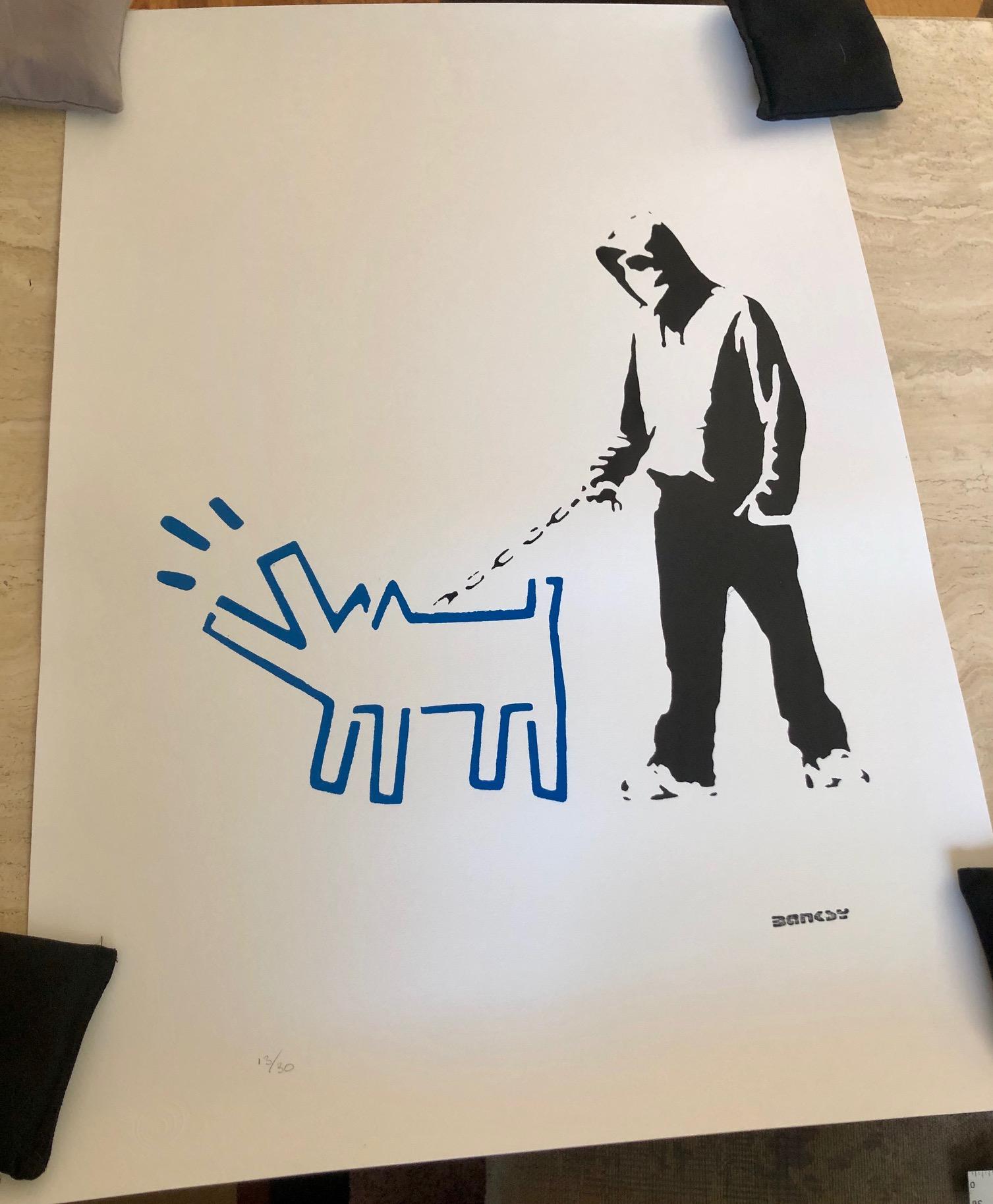 Banksy - Hoodie & Har... by   Banksy - Masterpiece Online