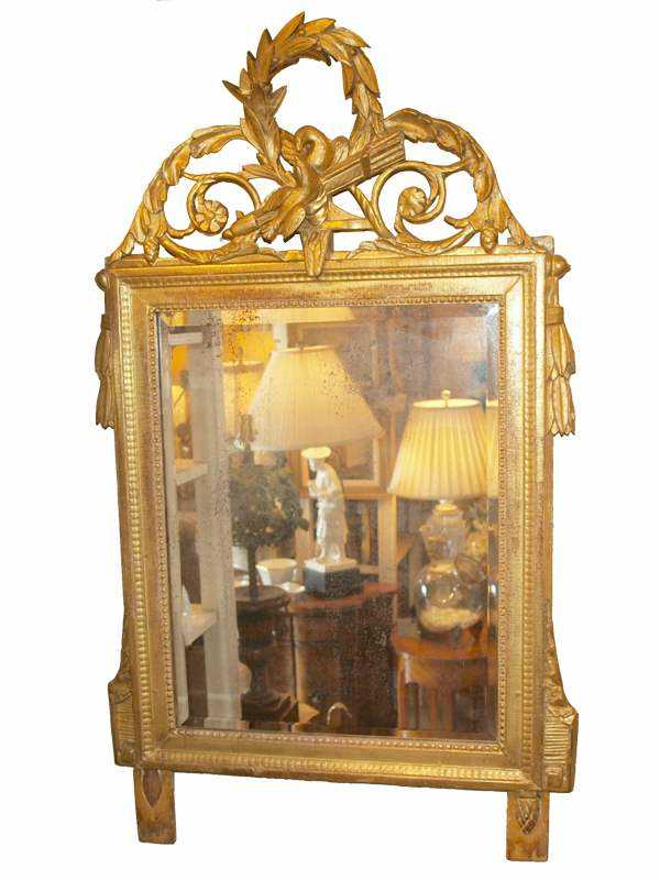 Giltwood Mirror by  French  - Masterpiece Online