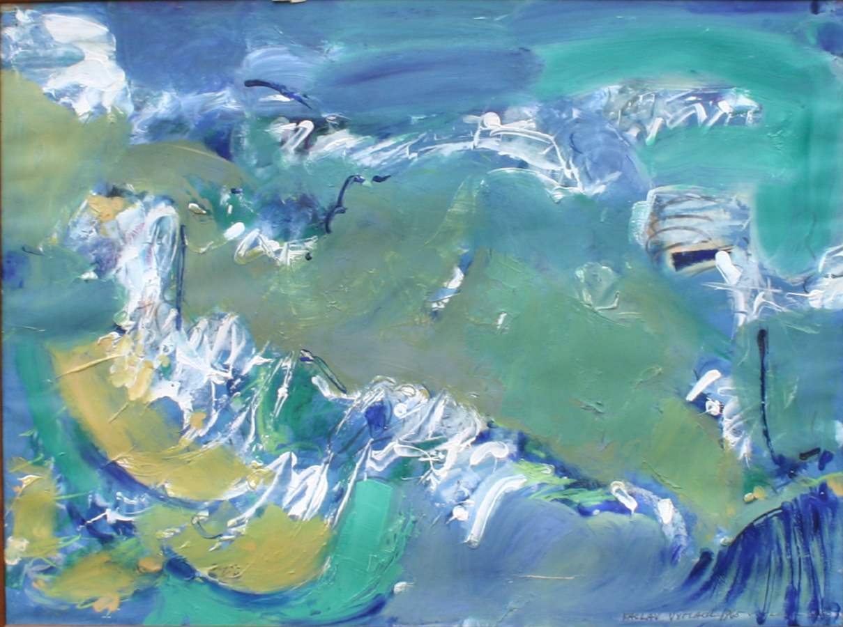 South Shore Surf- by  Vaclav Vytlacil - Masterpiece Online
