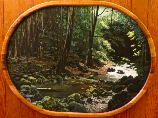 Along a Hawaiian Stre... by  Edwin B. Kayton - Masterpiece Online