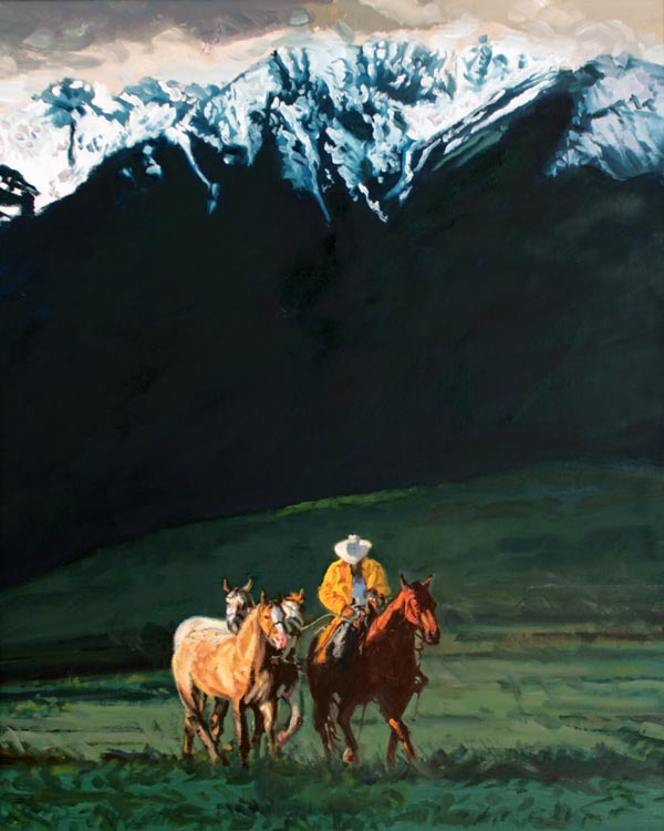 SOLD- Mountain Snow by  Glen Edwards - Masterpiece Online