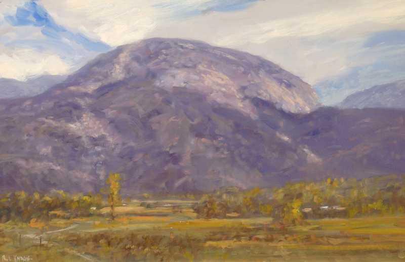 Taos Mountain by  Raymond L. Knaub - Masterpiece Online