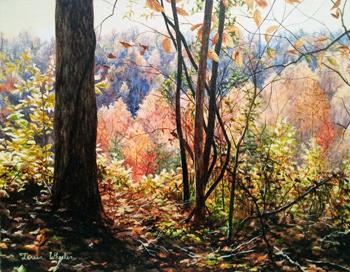 Backlit October Mount... by   Teresa  Wheeler - Masterpiece Online