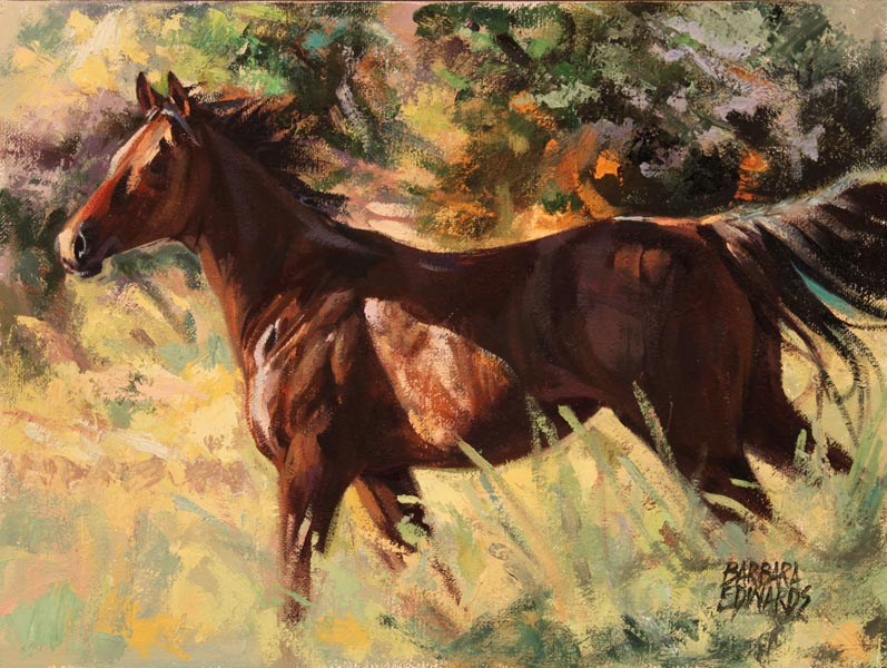 SOLD- Free by  Barbara Summers Edwards - Masterpiece Online