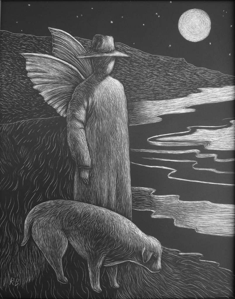 Moonlight Messengers by Mr Robert  Batterton - Masterpiece Online