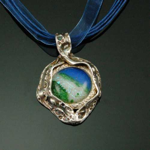 PRE1306 Fine Silver P... by  Pam East - Masterpiece Online