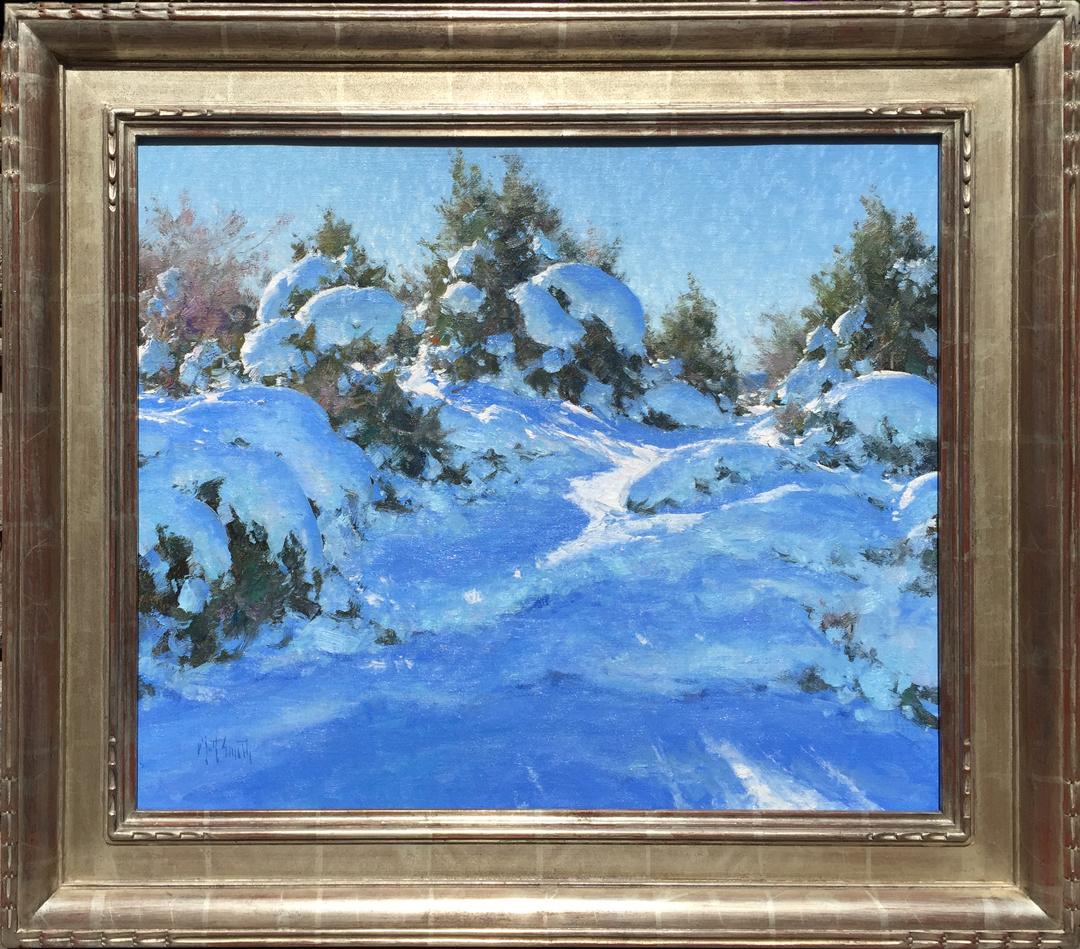 The First Good Snow by Mr. Matt Smith - Masterpiece Online