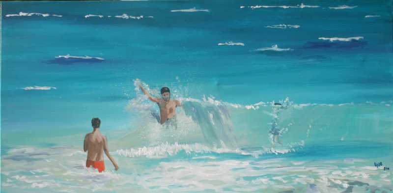 Shallow Water by Ms. Yve Poucet - Masterpiece Online
