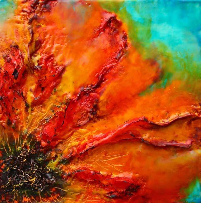 Fire Poppy #1 by  Emma Ashby - Masterpiece Online