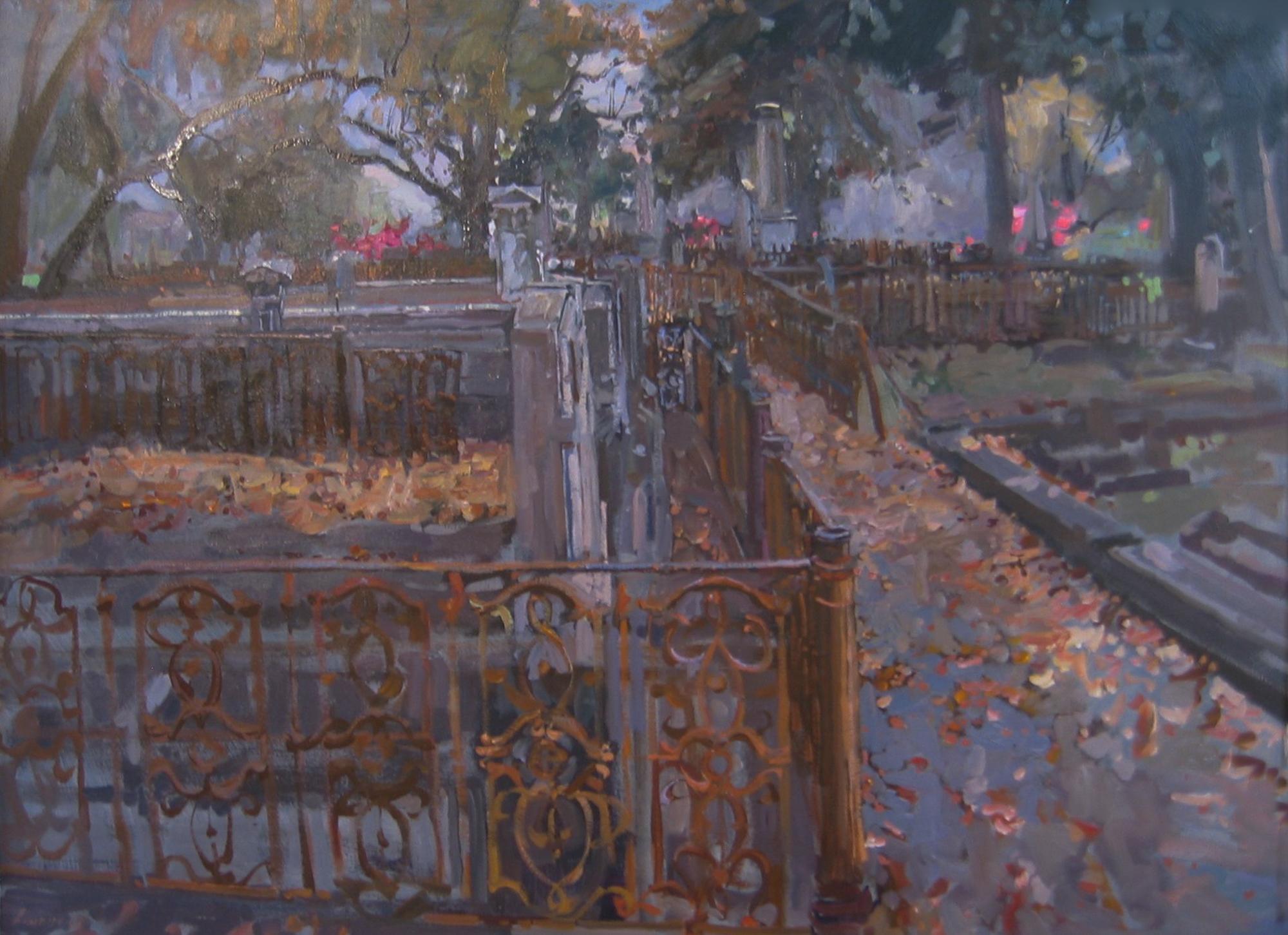 Graveyard by  Daud Akhriev - Masterpiece Online