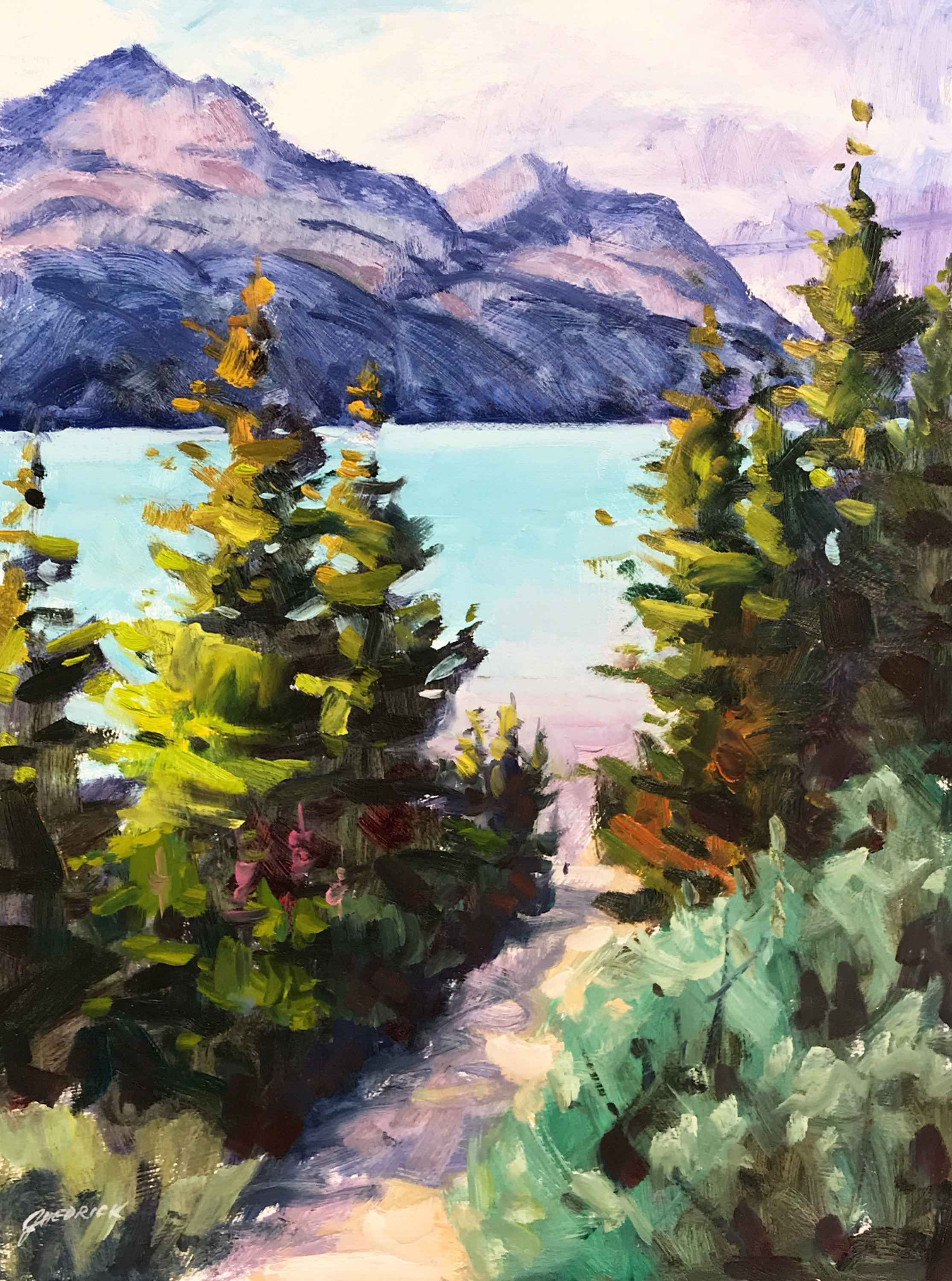 The Pathway by  Jessica Hedrick - Masterpiece Online