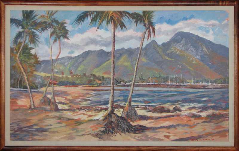 Haleiwa Beach/North S... by  Mark Brown - Masterpiece Online