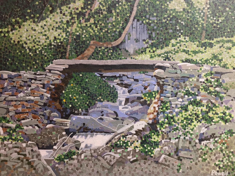 Stone Bridge by  Allen Powell - Masterpiece Online