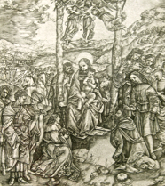 The Adoration of the ... by  Cristofano Robetta (1462-1535) - Masterpiece Online