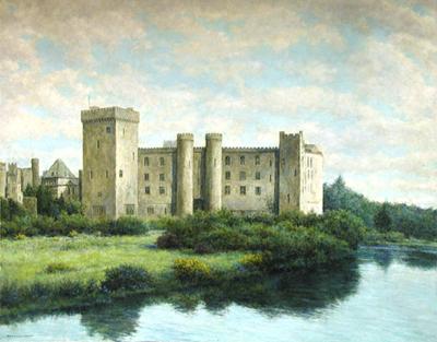 Dromoland Castle Lime... by  Bernard Wynne - Masterpiece Online