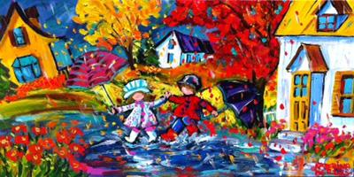 Spring Fun by  Katerina Mertikas - Masterpiece Online