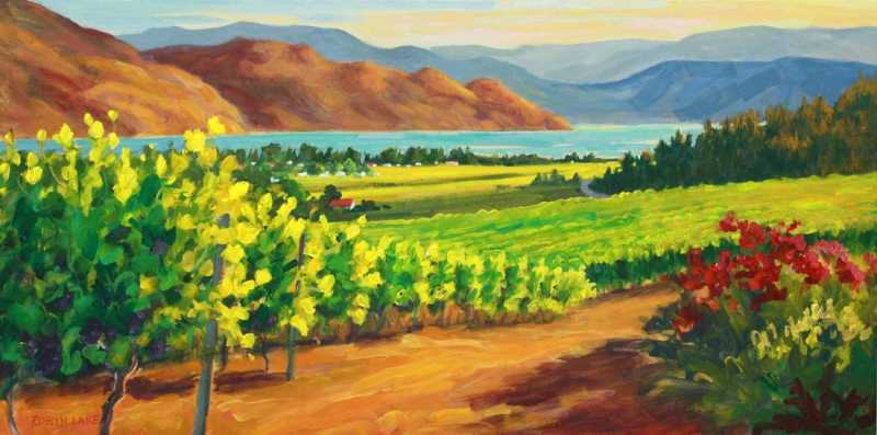Quails Gate Evening by  Robyn Lake - Masterpiece Online