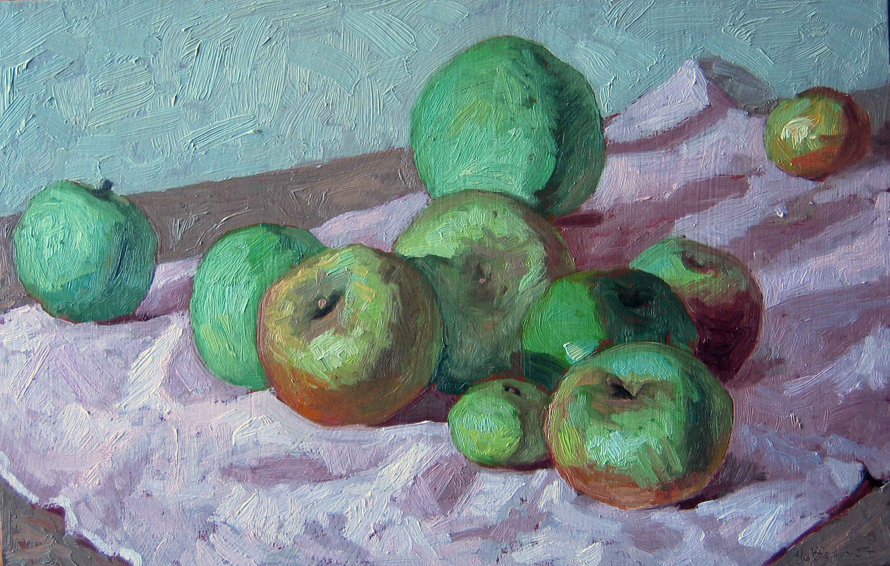 Gretchen's Apples by  Melissa Hefferlin - Masterpiece Online