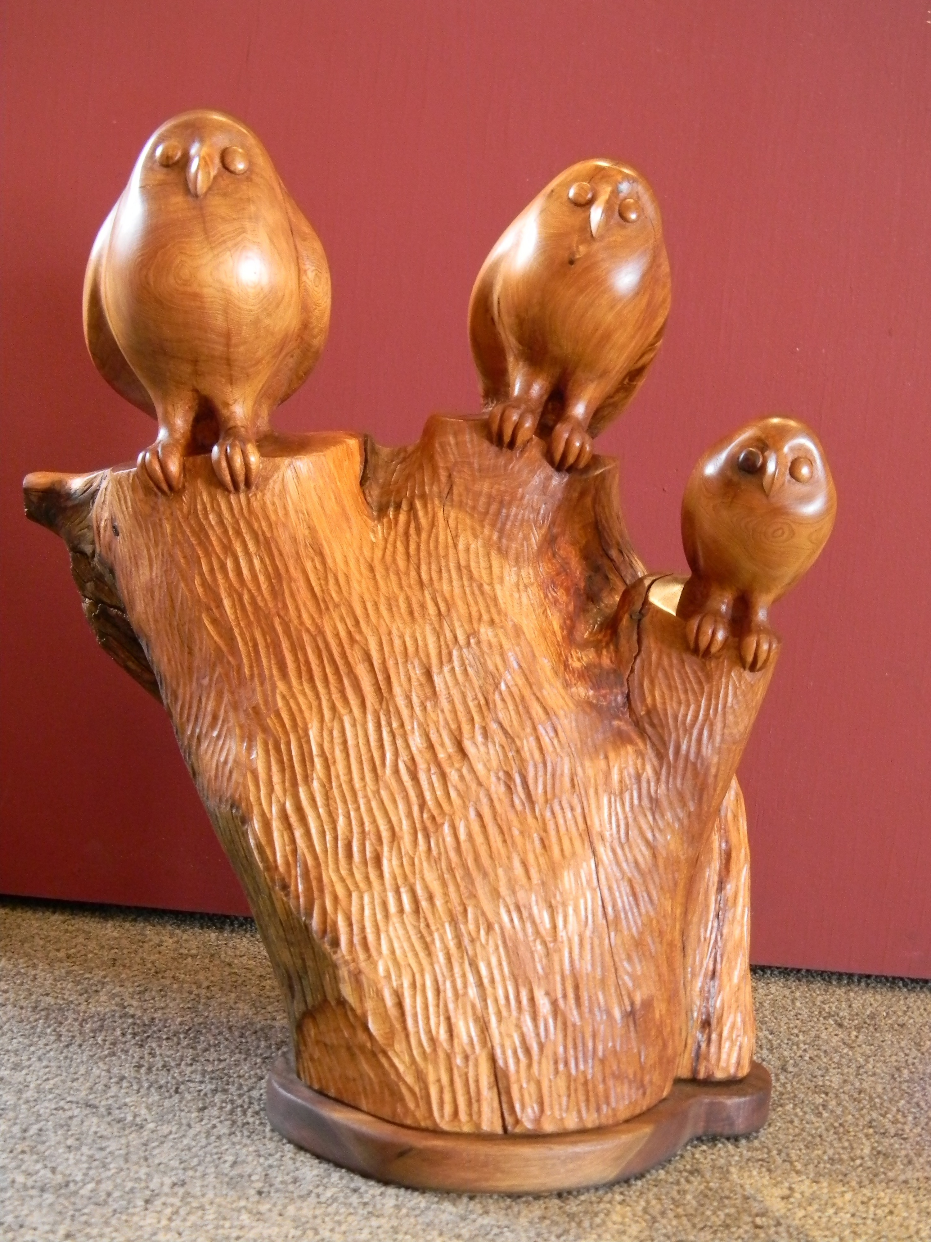 Tree Owls by  Mike Medow - Masterpiece Online