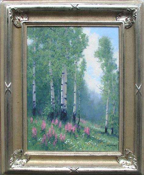 Fireweed in Summer by  Michael Hadley - Masterpiece Online