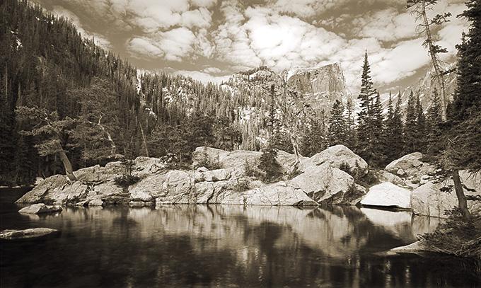 Dream Lake 3/125 by Mr. Ben Ham - Masterpiece Online