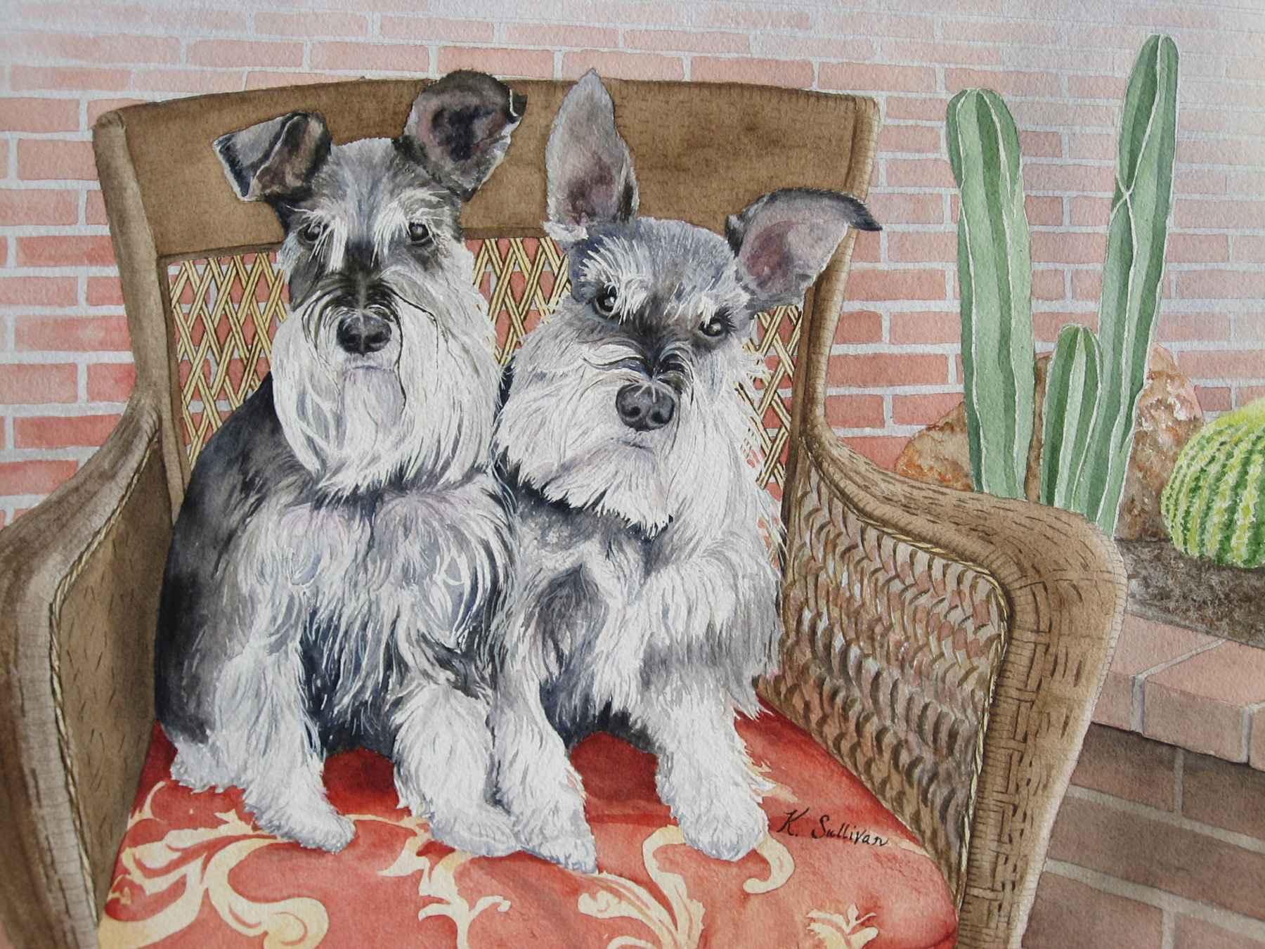 Millie & Mollie by  Kay Sullivan - Masterpiece Online