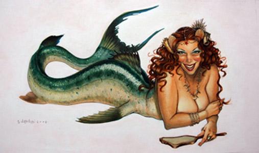 Mermaid by  Tony DiTerlizzi - Masterpiece Online