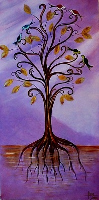 Tree of Life and Weal... represented  by  Deborah Levy
